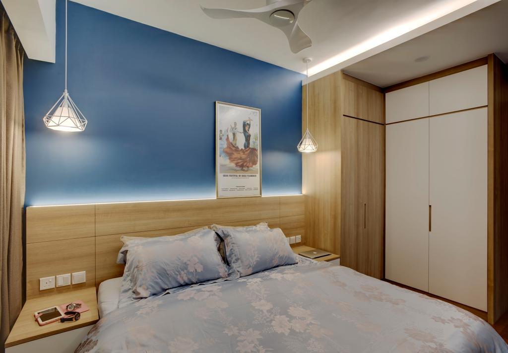 Scandinavian, Condo, Bedroom, Santorini, Interior Designer, The Orange Cube