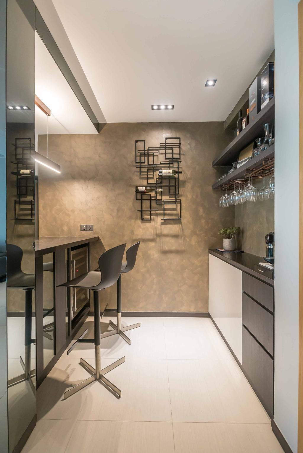 Modern, Condo, Kitchen, Spectrum, Interior Designer, The Orange Cube