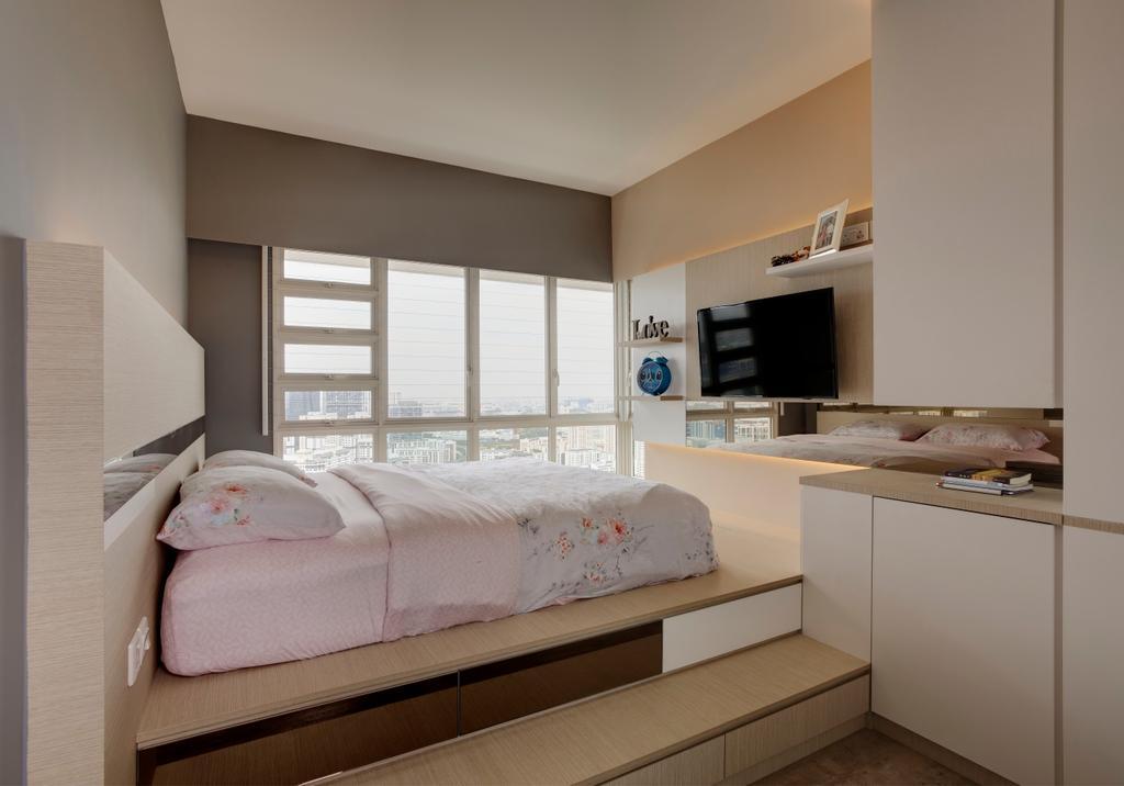 Scandinavian, HDB, Bedroom, Bukit Batok, Interior Designer, The Orange Cube