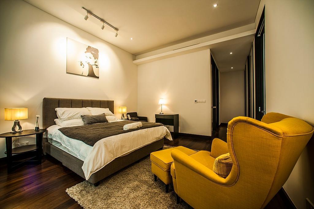 Modern, Condo, Bedroom, Banyan Tree, Interior Designer, IQI Concept Interior Design & Renovation, Contemporary