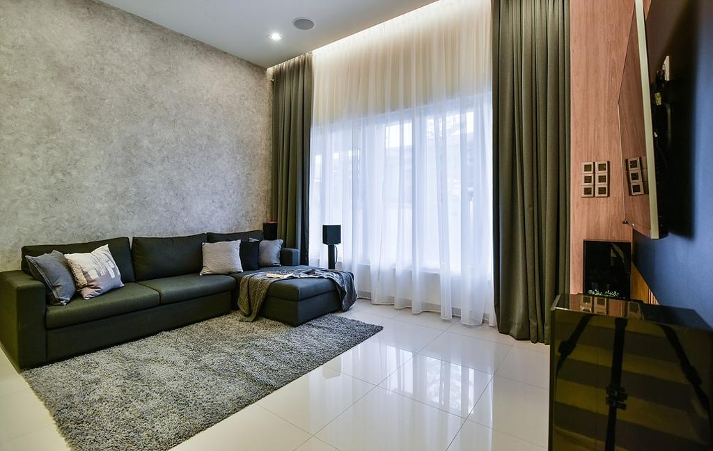 Contemporary, Landed, Living Room, Damai Perdana, Interior Designer, IQI Concept Interior Design & Renovation
