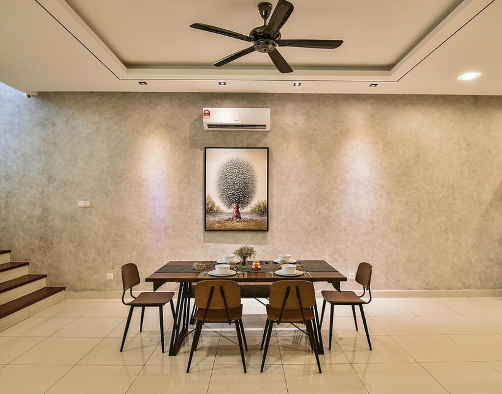 Contemporary, Landed, Dining Room, Temasya, Interior Designer, IQI Concept Interior Design & Renovation