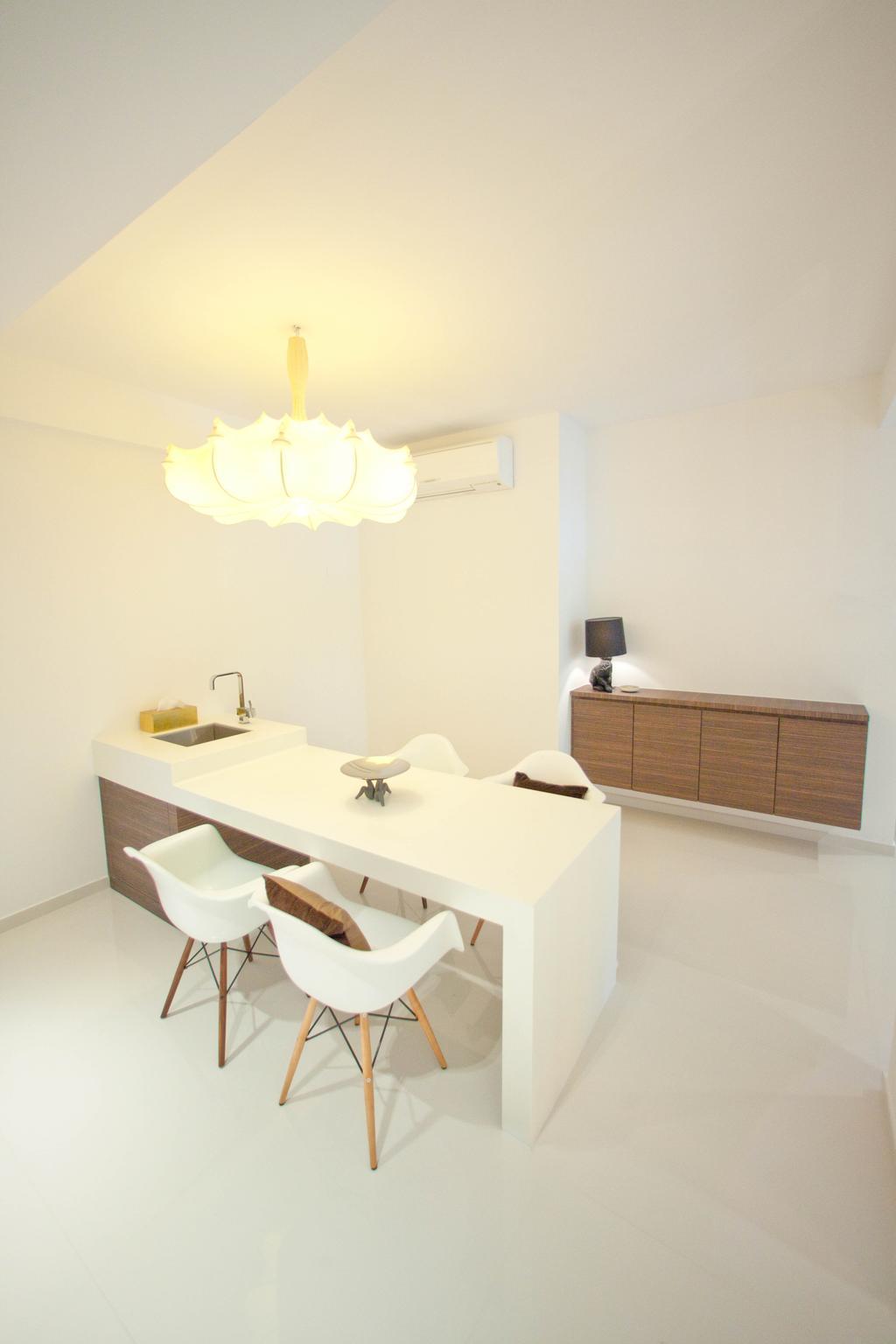 Contemporary, Landed, Dining Room, Loyang Valley, Interior Designer, Create
