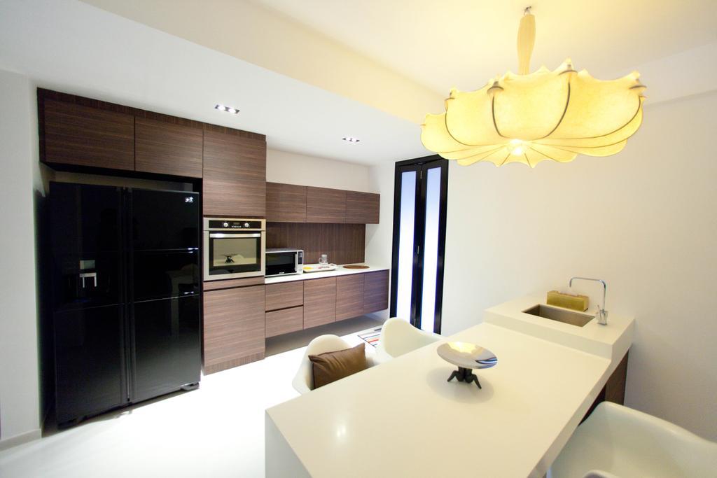 Contemporary, Landed, Kitchen, Loyang Valley, Interior Designer, Create
