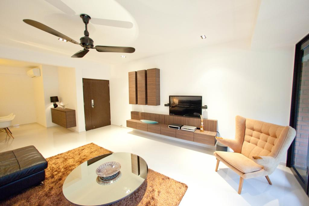 Contemporary, Landed, Living Room, Loyang Valley, Interior Designer, Create