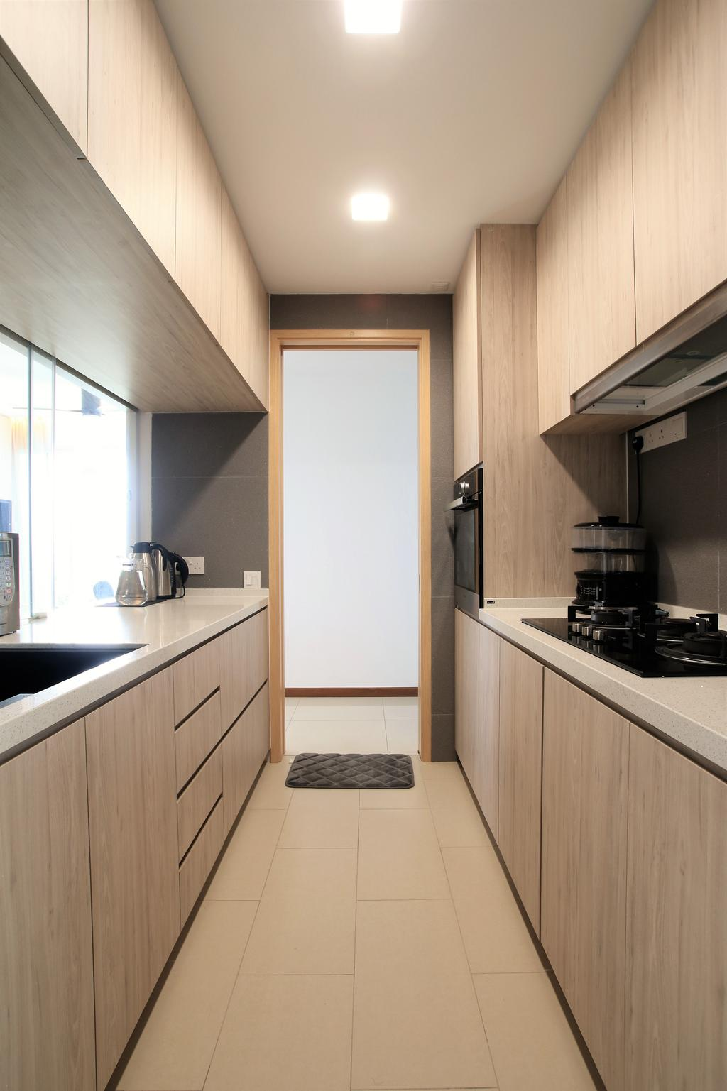 Scandinavian, Condo, Kitchen, Waterview, Interior Designer, Intrigue-d Design Consultancy