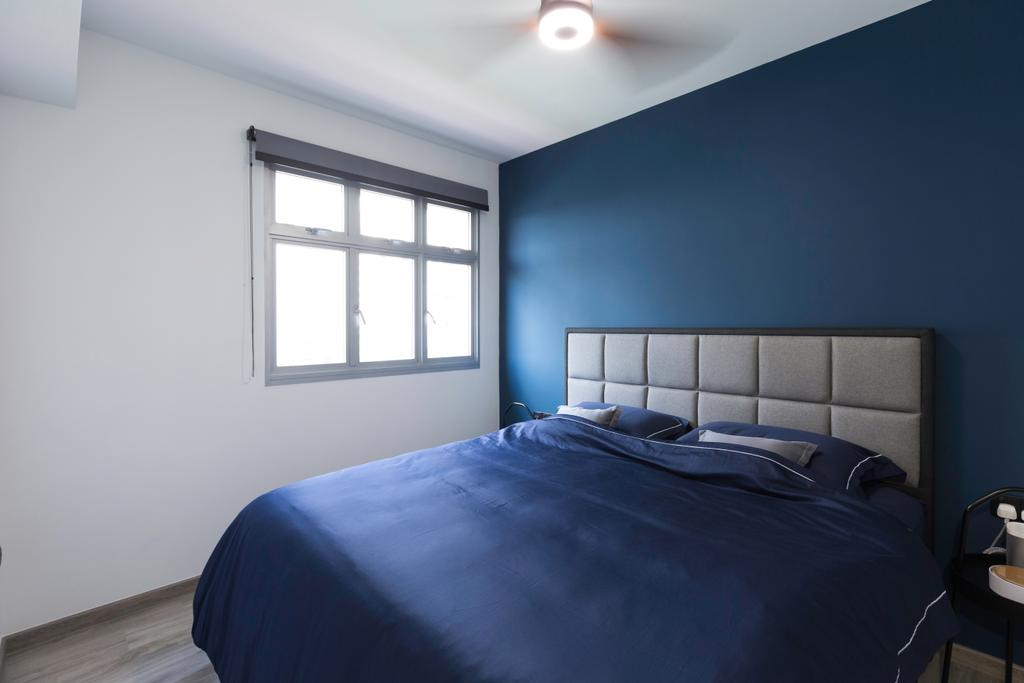 Contemporary, HDB, Bedroom, Canberra Crescent, Interior Designer, DreamCreations Interior, Modern