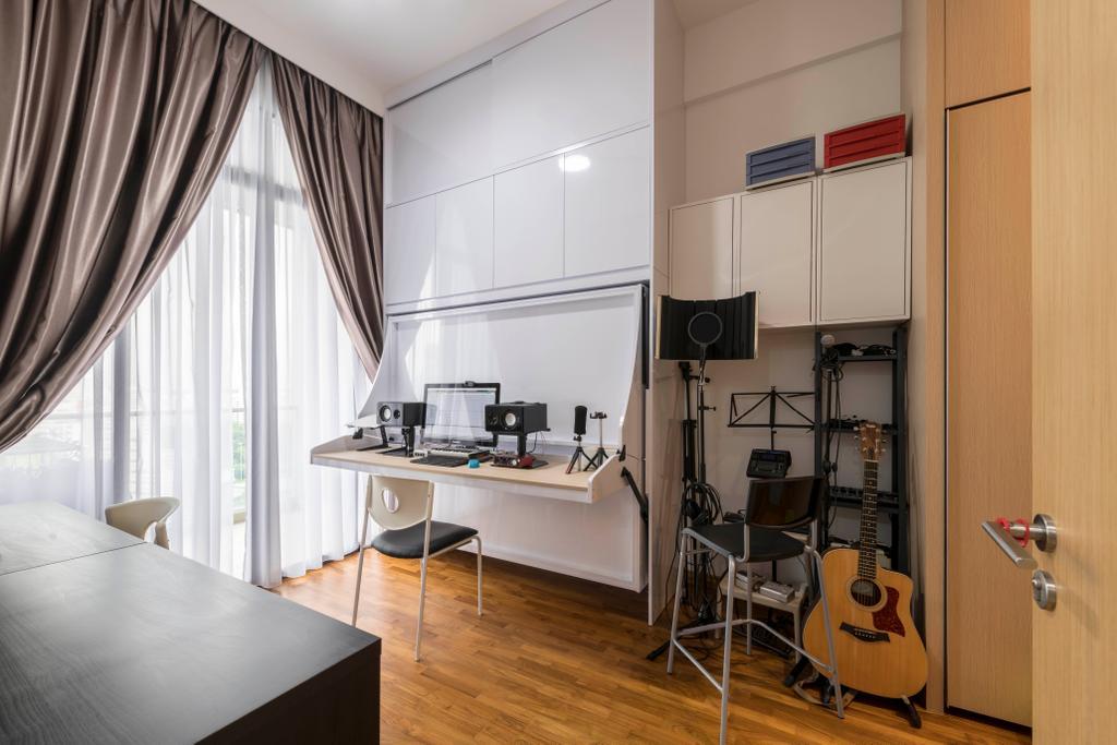 Contemporary, Condo, Study, Hillion Residences, Interior Designer, Craftsmen Atelier