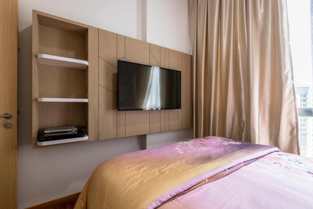 Contemporary, Condo, Bedroom, Hillion Residences, Interior Designer, Craftsmen Atelier