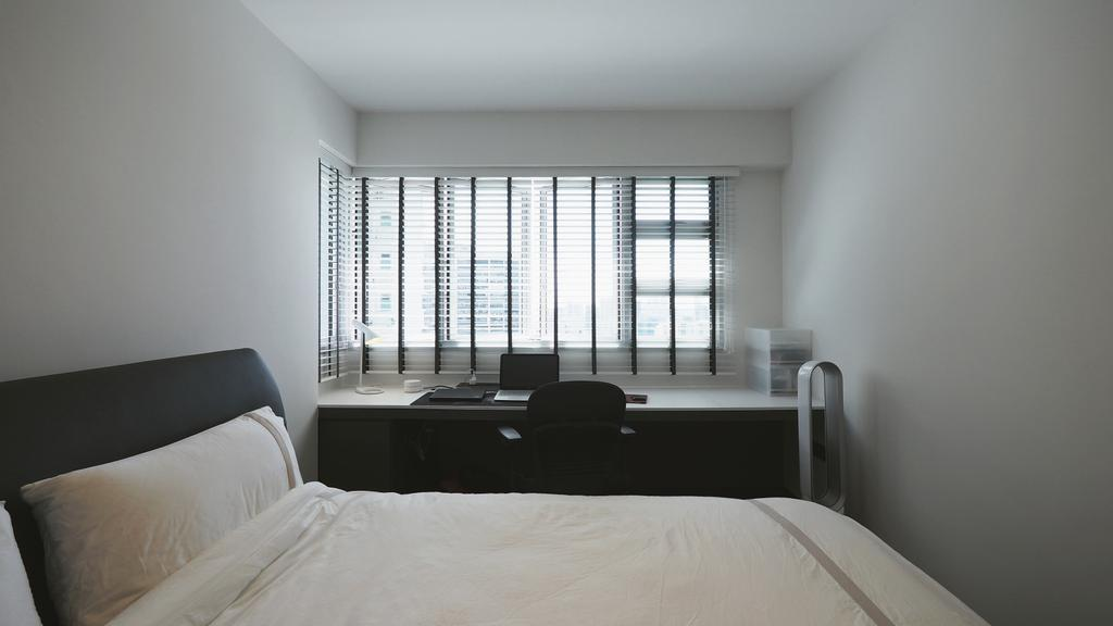 Contemporary, HDB, Bedroom, Yio Chu Kang, Interior Designer, D'Brain Studio, Modern