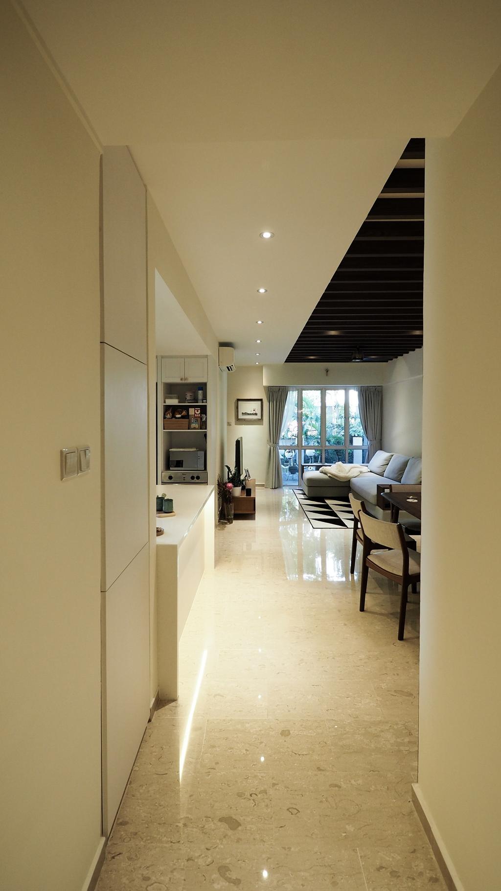 Modern, HDB, Kim Yan Road, Interior Designer, D'Brain Studio, Contemporary