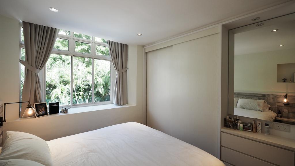 Modern, HDB, Bedroom, Kim Yan Road, Interior Designer, D'Brain Studio, Contemporary