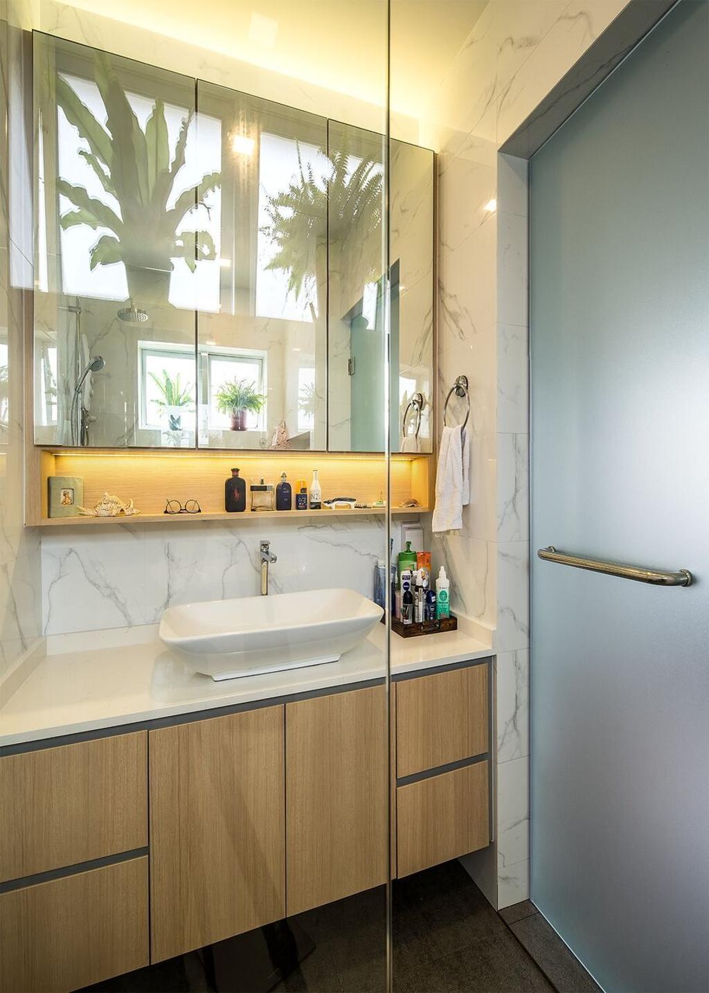Modern, Condo, Bathroom, East Mansion, Interior Designer, Hygge Design