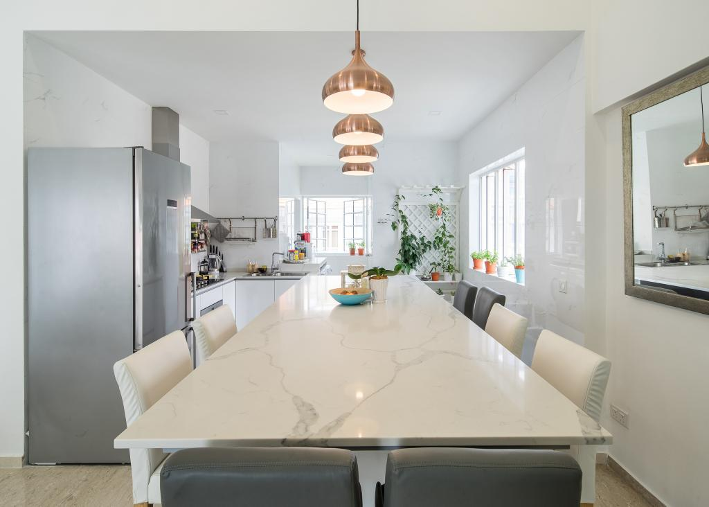 Modern, Condo, Dining Room, East Mansion, Interior Designer, Hygge Design