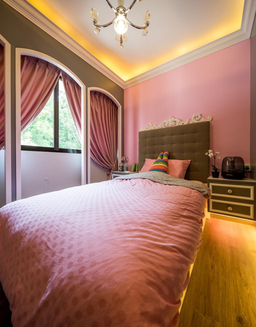 Contemporary, HDB, Bedroom, Woodlands Drive, Interior Designer, Hygge Design