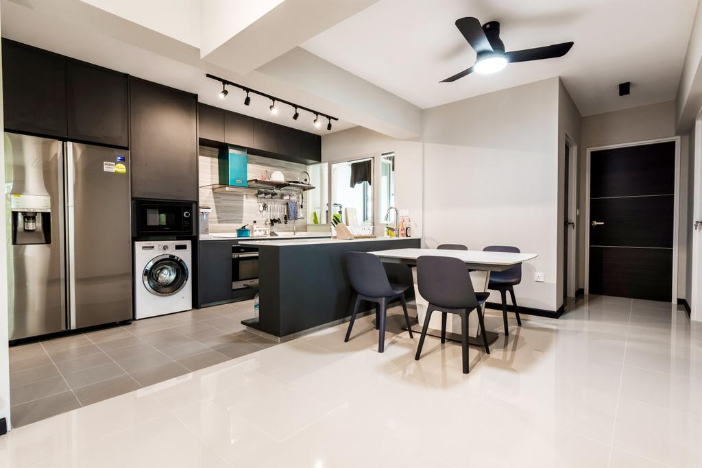 Contemporary, HDB, Sumang Walk, Interior Designer, Design Story