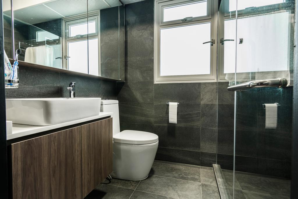Contemporary, HDB, Bathroom, Sumang Walk, Interior Designer, Design Story