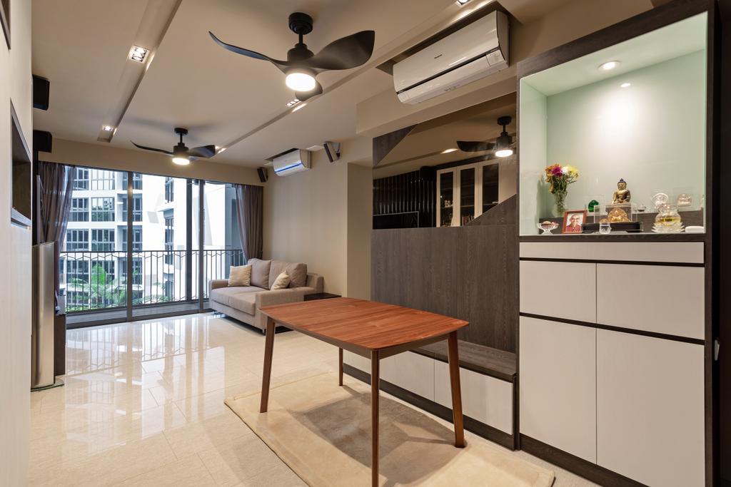 Contemporary, Condo, Living Room, The Criterion, Interior Designer, Ascenders Design Studio