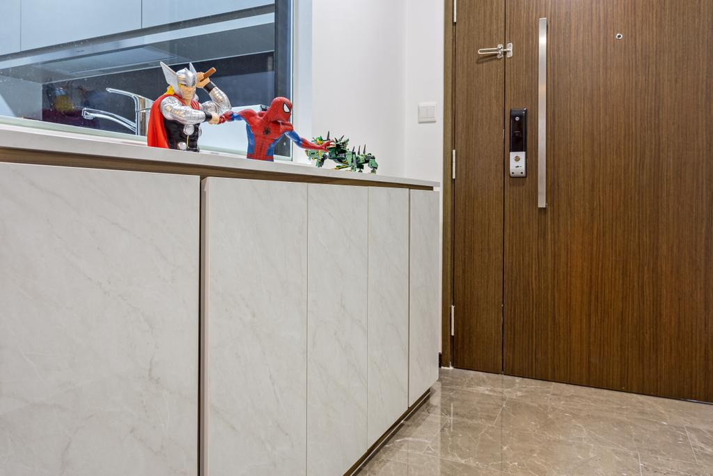 Modern, HDB, Edgedale Plains, Interior Designer, D Initial Concept