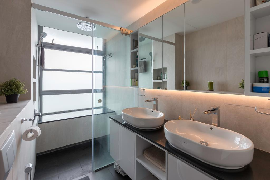 Contemporary, Condo, Bathroom, Park Infinia, Interior Designer, The Roomakers