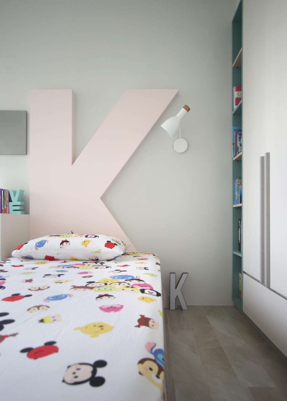 Eclectic, HDB, Bedroom, Klang Road, Interior Designer, Prozfile Design, Scandinavian