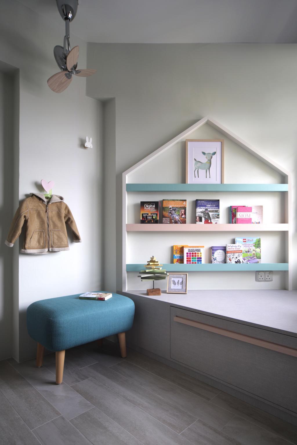 Eclectic, HDB, Bedroom, Klang Road, Interior Designer, Prozfile Design, Scandinavian, Kids Room
