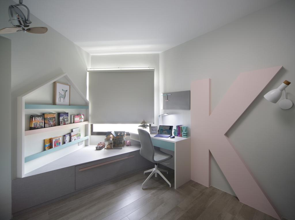 Eclectic, HDB, Bedroom, Klang Road, Interior Designer, Prozfile Design, Scandinavian, Kids Room