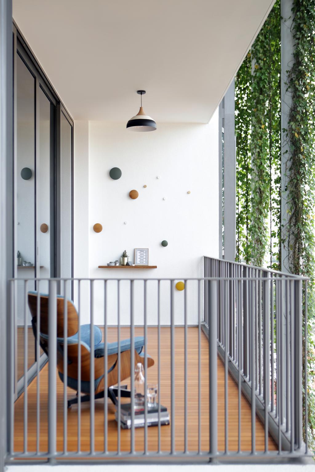 Contemporary, Condo, Balcony, The Tembusu, Interior Designer, Prozfile Design