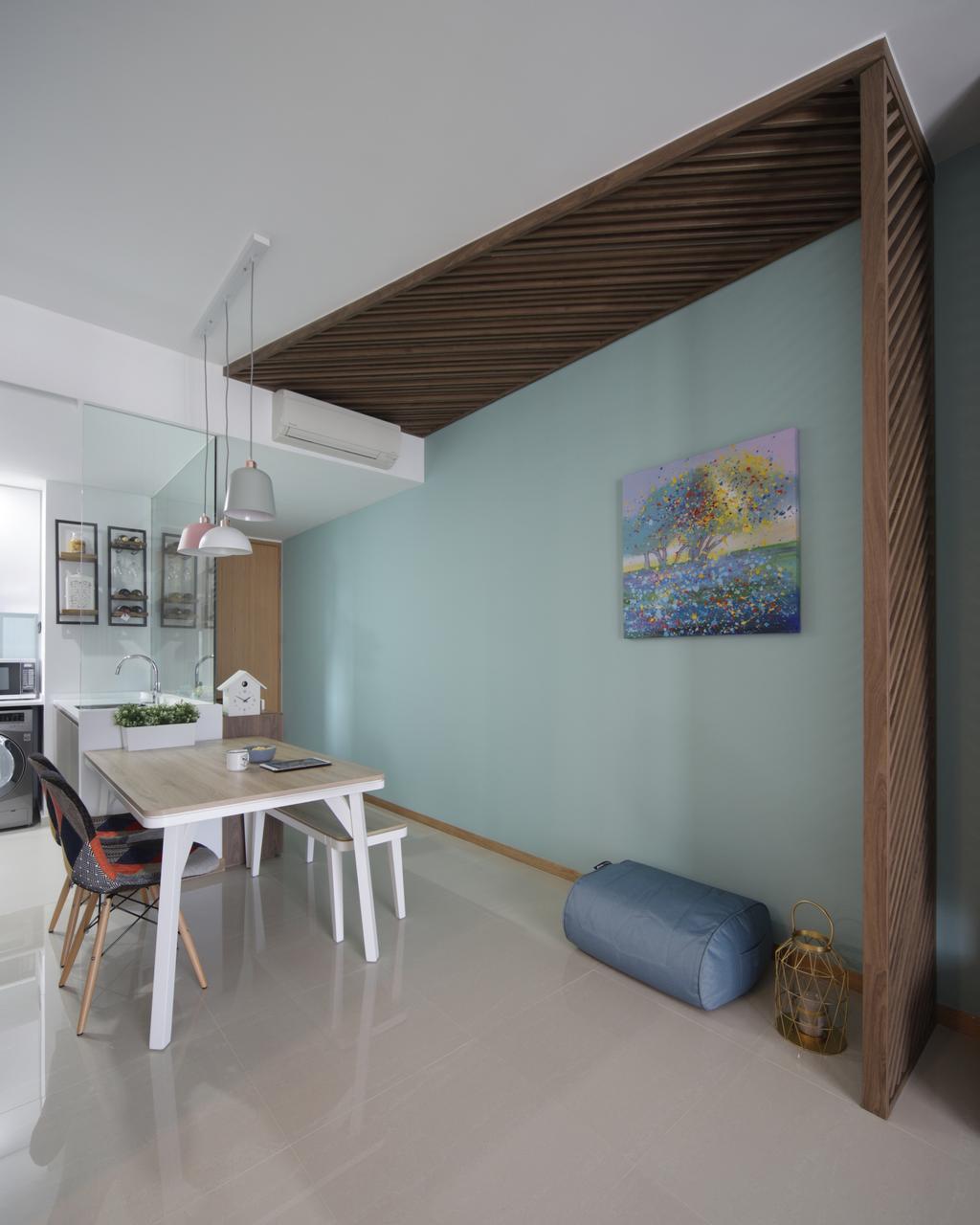 Scandinavian, Condo, Dining Room, The Trilinq, Interior Designer, Prozfile Design, Minimalistic