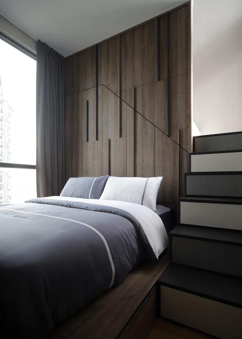 Scandinavian, Condo, Bedroom, The Trilinq, Interior Designer, Prozfile Design, Minimalistic, Loft