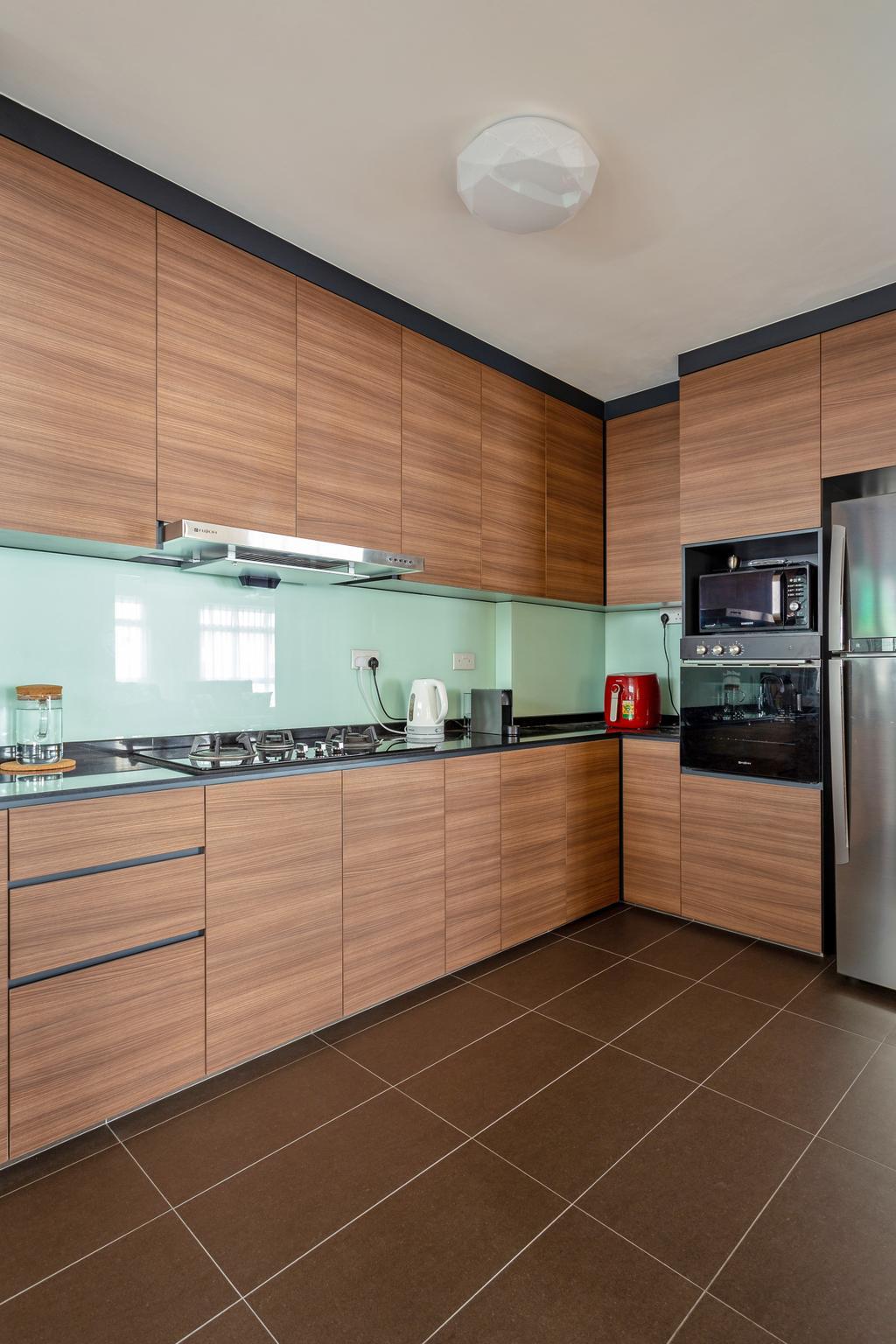 Contemporary, HDB, Kitchen, Yishun Ring Road, Interior Designer, DreamCreations Interior