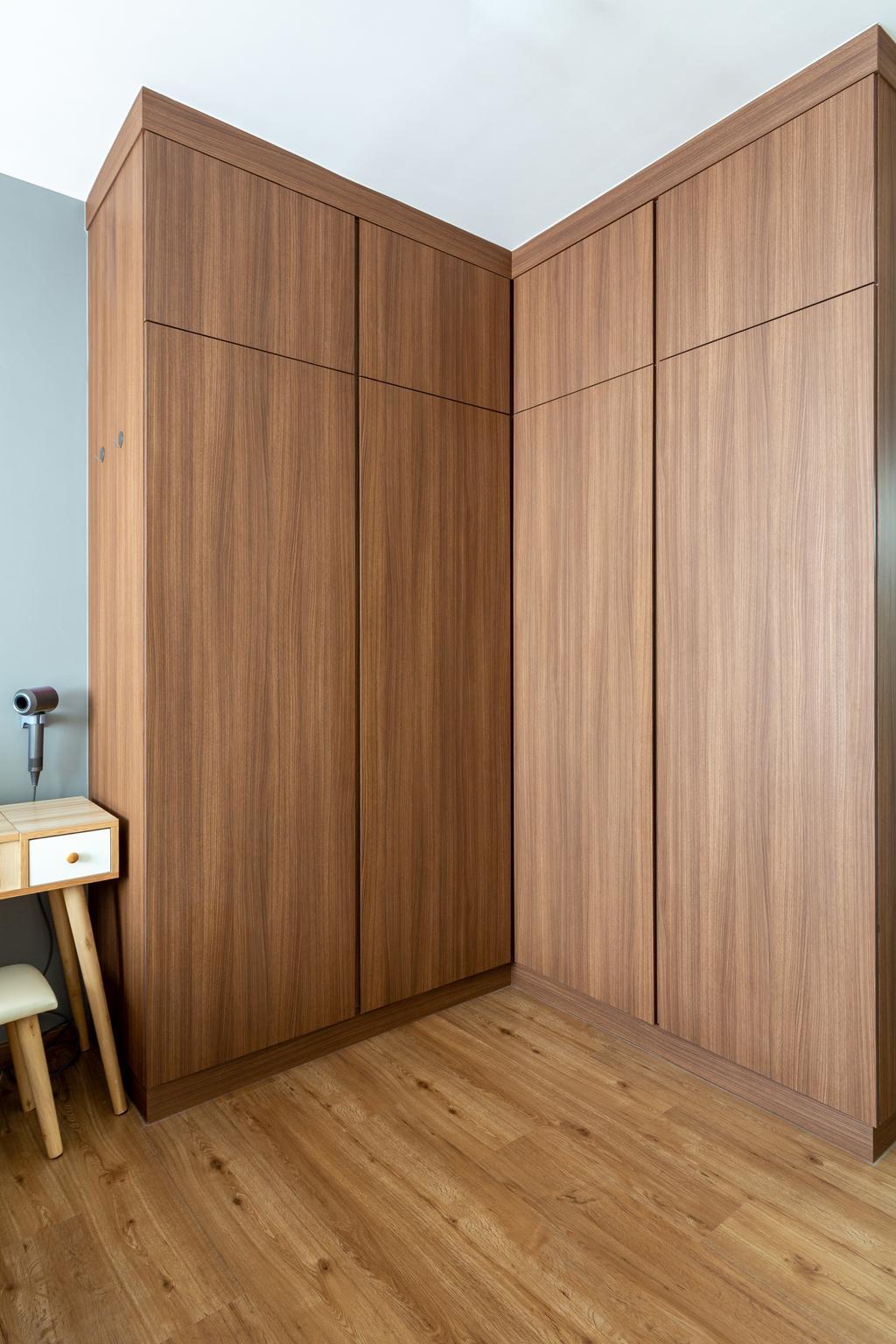 Contemporary, HDB, Yishun Ring Road, Interior Designer, DreamCreations Interior