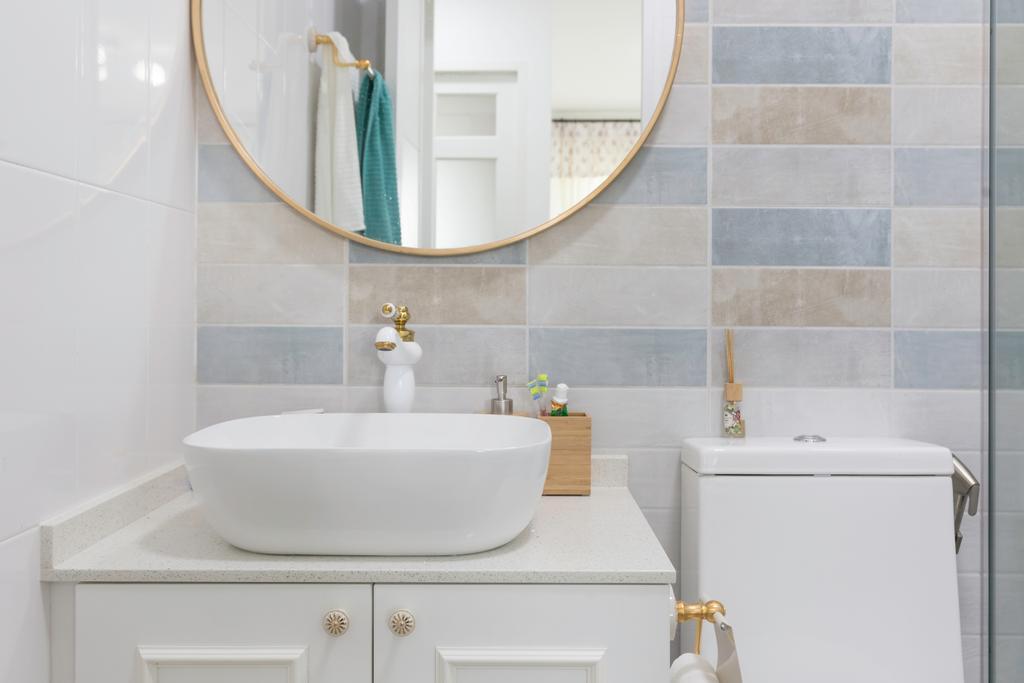 Scandinavian, HDB, Bathroom, Telok Blangah Street 31, Interior Designer, Colourbox Interior