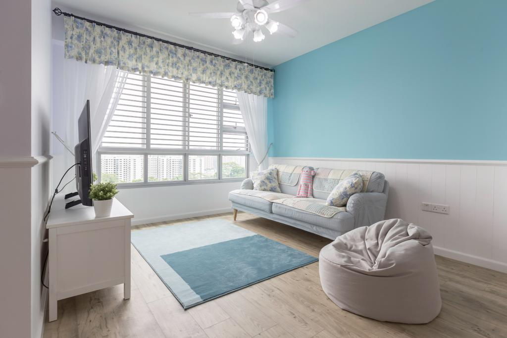 Scandinavian, HDB, Living Room, Telok Blangah Street 31, Interior Designer, Colourbox Interior