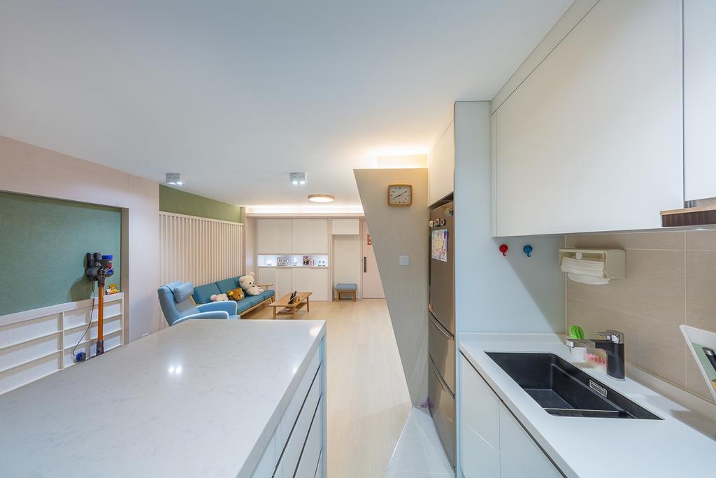 公屋/居屋, 廚房, 寶琳邨, 室內設計師, am PLUS