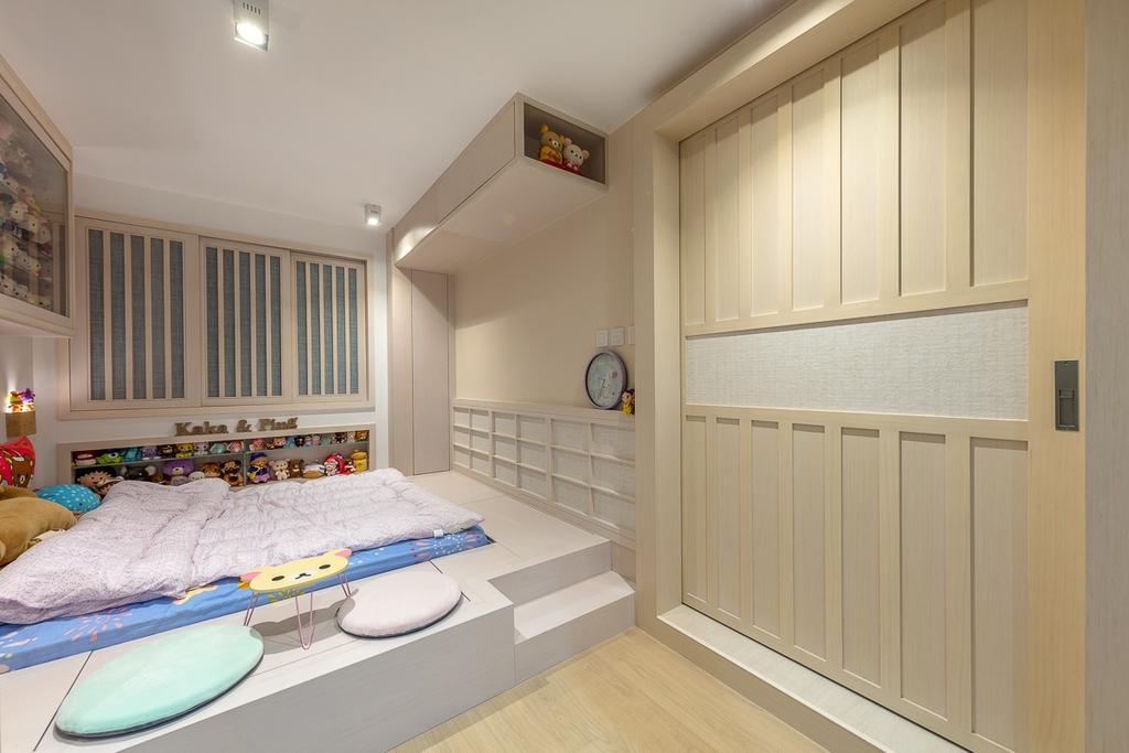 公屋/居屋, 睡房, 寶琳邨, 室內設計師, am PLUS