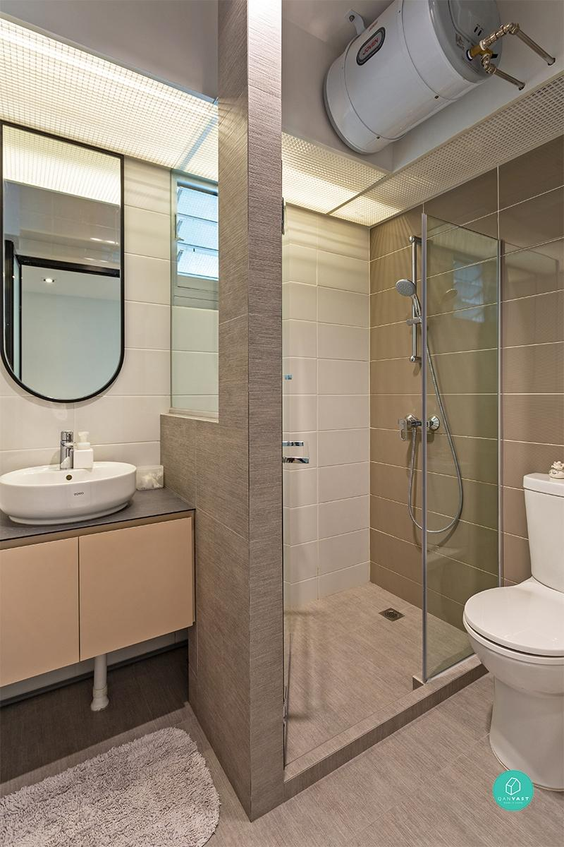 Toa Payoh HDB designed by Habit - Bathroom