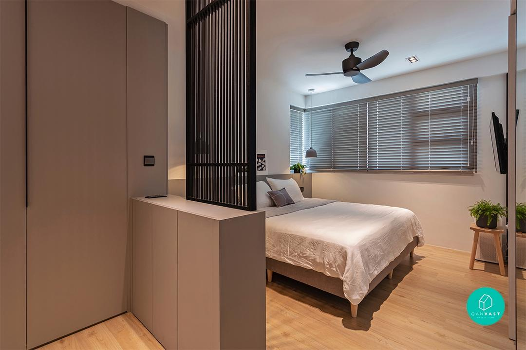 Toa Payoh HDB designed by Habit - Bedroom