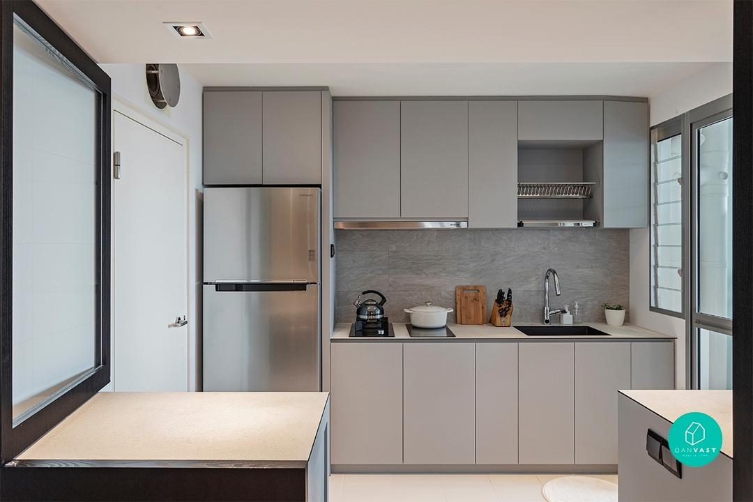 Toa Payoh HDB designed by Habit - Kitchen