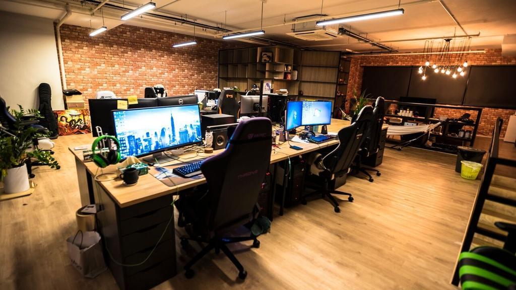 Yishun, Commercial, Interior Designer, MET Interior, Industrial, Contemporary