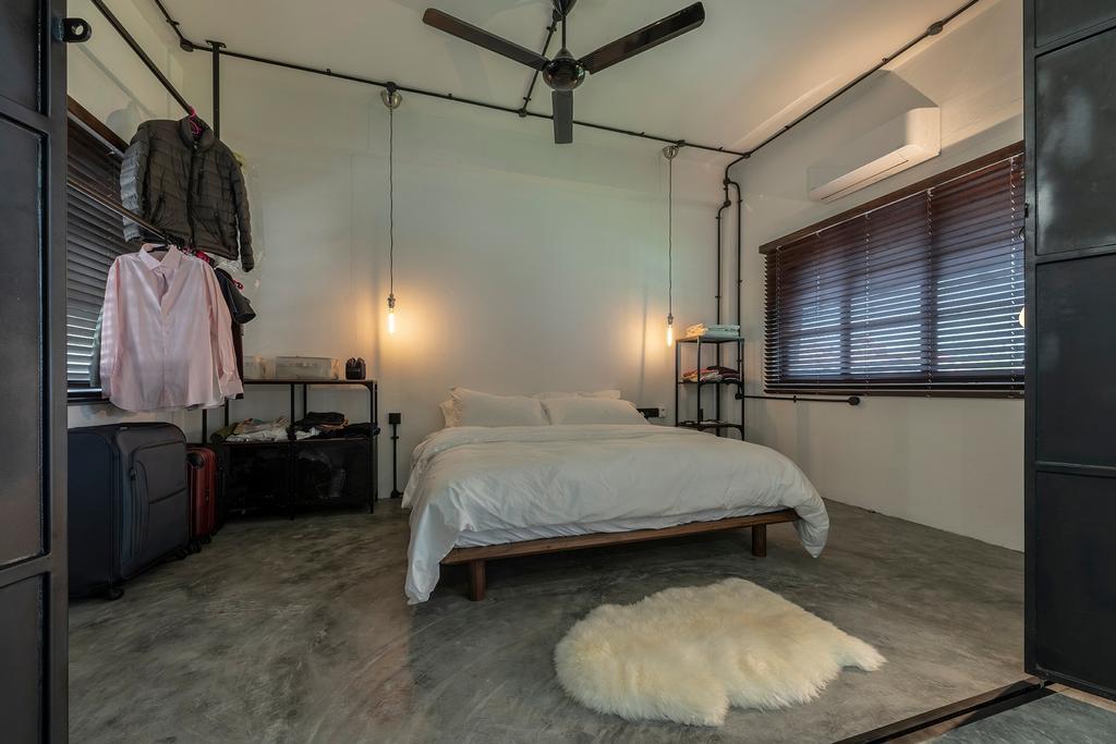 Industrial, Condo, Bedroom, Joo Chiat Road, Interior Designer, Fifth Avenue Interior