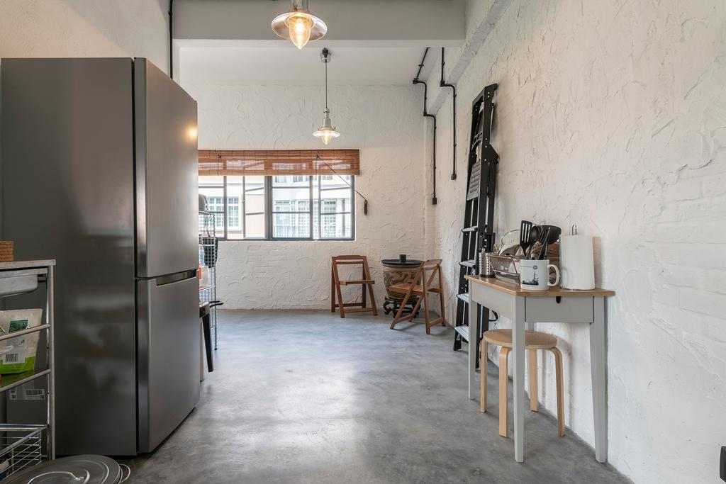 Industrial, Condo, Kitchen, Joo Chiat Road, Interior Designer, Fifth Avenue Interior