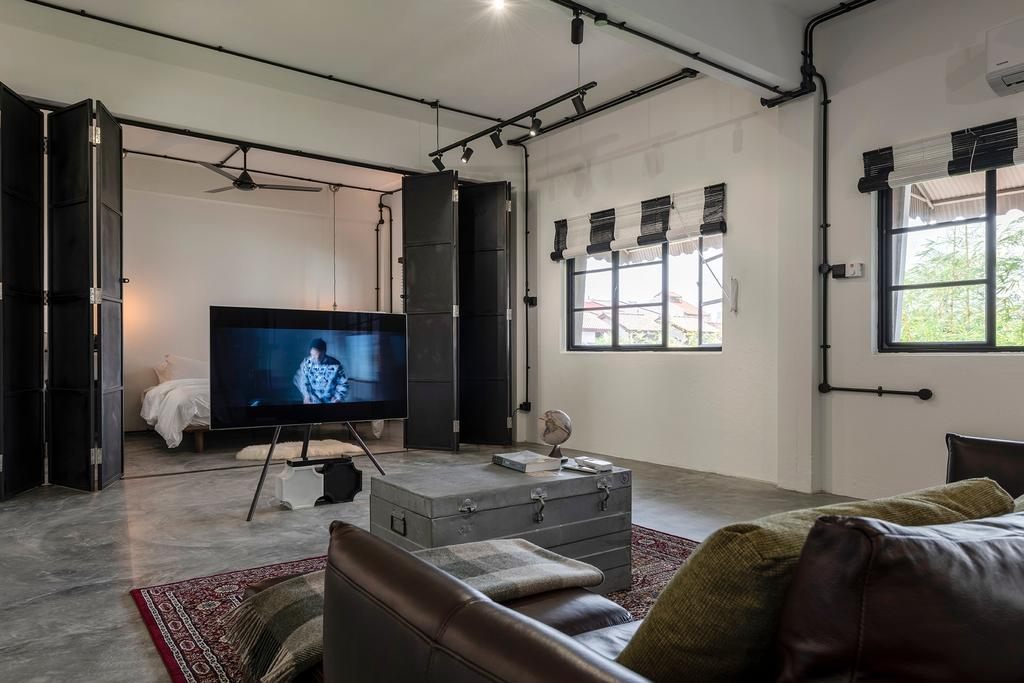 Industrial, Condo, Living Room, Joo Chiat Road, Interior Designer, Fifth Avenue Interior