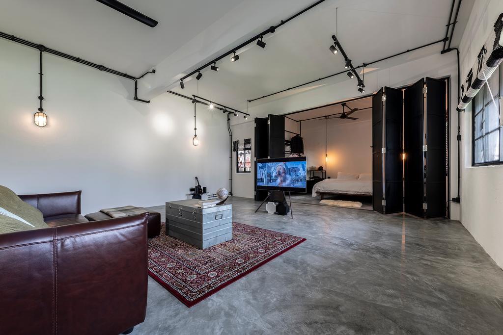 Industrial, Condo, Living Room, Joo Chiat Road, Interior Designer, Fifth Avenue Interior