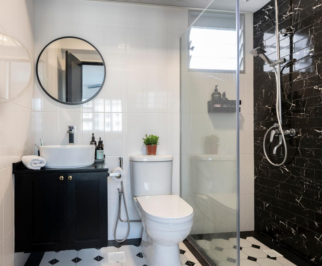 Contemporary, HDB, Bathroom, Telok Blangah (Block 91A), Interior Designer, Fifth Avenue Interior
