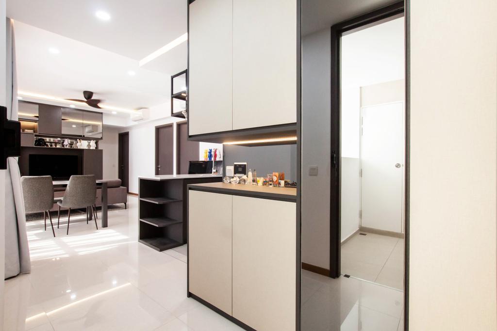 Modern, Condo, Vue 8, Interior Designer, Space Atelier, Contemporary