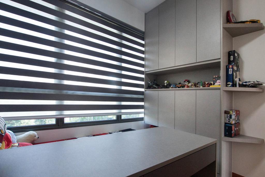 Modern, Condo, Study, Vue 8, Interior Designer, Space Atelier, Contemporary