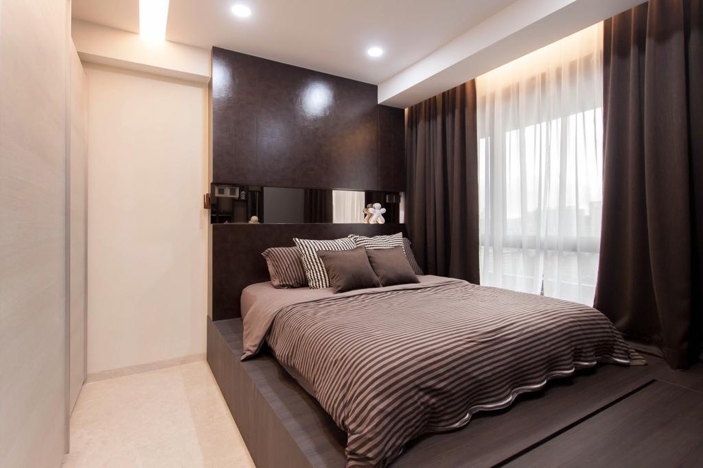 Modern, Condo, Bedroom, 6 Derbyshire, Interior Designer, Space Atelier