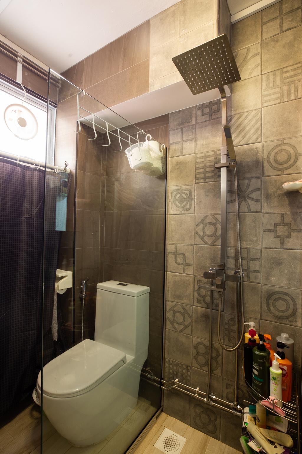 Transitional, HDB, Bathroom, Tampines, Interior Designer, Interior Times