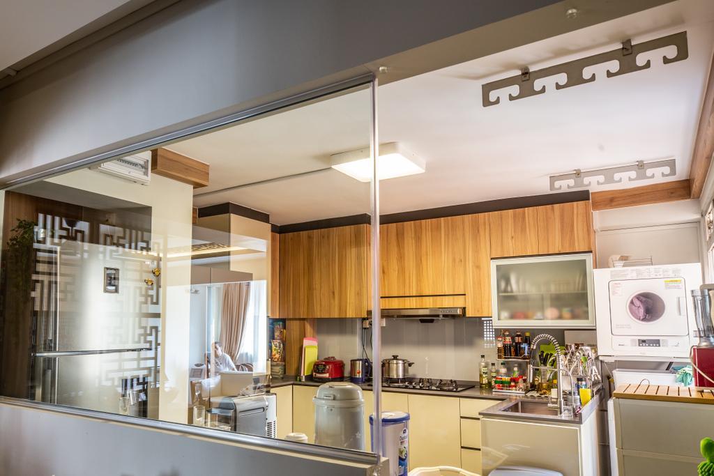 Transitional, HDB, Kitchen, Tampines, Interior Designer, Interior Times